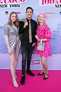 2019, June 21. Kinepolis Jaarbeurs, Utrecht, the Netherlands. Nola Kemper, Valentijn Ave and Nikie Smit at the premiere of 100% Coco in New York