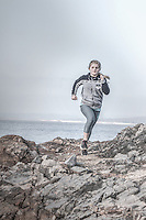 Running on rough terrain in California