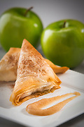 Homemade  hot apple turnovers that are amazingly sweet. Photography by JeffreyA McDonald.