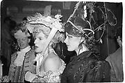 Paul Golding and Nigella Lawson at the Piers Gaveston Ball. 13 May 1983. Park Lane Hotel. London. © Copyright Photograph by Dafydd Jones 66 Stockwell Park Rd. London SW9 0DA Tel 020 7733 0108 www.dafjones.com