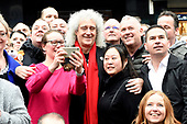 Brian May in Amsterdam for Queen in 3D