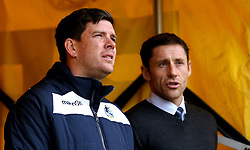 Bristol Rovers manager Darrell Clarke and Port Vale manager Michael Brown have a chat - Mandatory by-line: Robbie Stephenson/JMP - 18/02/2017 - FOOTBALL - Vale Park - Stoke-on-Trent, England - Port Vale v Bristol Rovers - Sky Bet League One