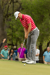 March 23, 2018 - Austin, TX, U.S. - AUSTIN, TX - MARCH 23: Jordan Spieth attempts an eagle putt during the WGC-Dell Technologies Match Play Tournament on March 22, 2018, at the Austin Country Club in Austin, TX. (Photo by David Buono/Icon Sportswire) (Credit Image: © David Buono/Icon SMI via ZUMA Press)