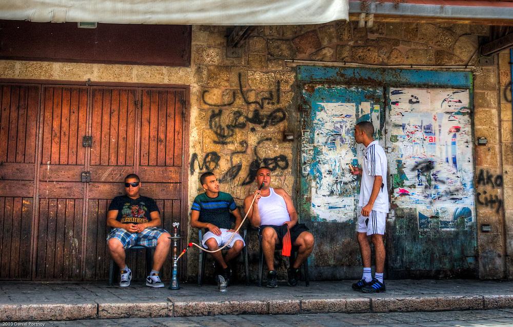 Smoking the Nargila in Acre