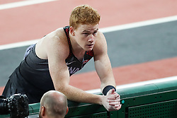 London, August 08 2017 . hawnacy Barber, Canada, in the men's pole-vault final on day five of the IAAF London 2017 world Championships at the London Stadium. © Paul Davey.