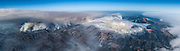 From the air, the size of the fire becomes apparent. When this photo was taken, Cal Fire was reporting 23, 568 acres burned. That number would grow. © 2016 Sivani Babu