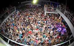 02.07.2011, Zrce beach, Pag, CRO, Hideout festival started on Zrce beach on the island Pag, Croatia. More then 10,000 tourists from Britain is expected to arrive to a three day party. This weekend festival is organized by Mark Newton, british event manager who plans to make Zrce beach new Europe's clubbing destination. Croatian Ibiza, as some already call it, for the next three day is going to host some of the world's most famous DJs like Sven Vath, Circo Loco, Annie Mac, Pendulum, 2manydjs, Chase & Status, Marco Carola, Sub Focus and many others. EXPA Pictures © 2011, PhotoCredit: EXPA/ nph/ Dino Stanin +++++ ATTENTION - OUT OF GERAMANY / GER +++++