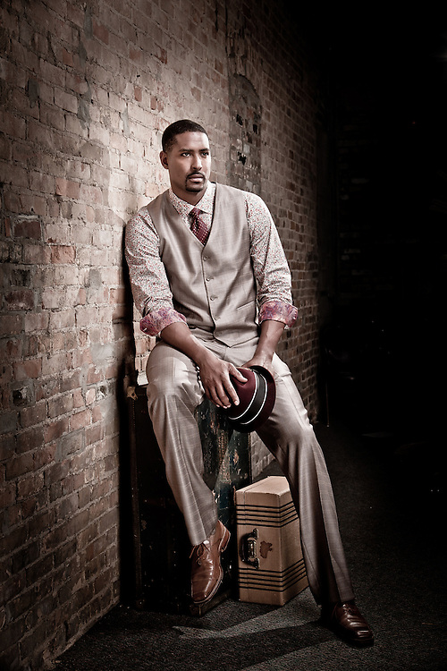 Andre Hutson, Fashion Portrait for Hidden Key Fashion Show, 2012.
