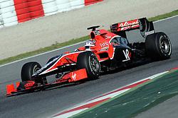 26.02.2010, Circuit de Catalunya, Barcelona, ESP, Formel 1 Tests, im Bild Timo Glock - Virgin Racing, EXPA Pictures © 2010, PhotoCredit: EXPA/ InsideFoto/ Semedia / SPORTIDA PHOTO AGENCY