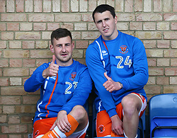September 30, 2017 - Southend, England, United Kingdom - L-R Blackpool's Scott Quigley and Blackpool's Callum Cooke.during Sky Bet League one match between Southend United against Blackpool at  Roots Hall,  Southend on Sea England on 30 Sept  2017  (Credit Image: © Kieran Galvin/NurPhoto via ZUMA Press)