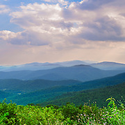 Shenandoah National Park extends along the Blue Ridge Mountains in the U.S. state of Virginia. The Skyline Drive runs its length, and a vast network of trails includes a section of the long-distance Appalachian Trail.