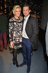 LONDON, ENGLAND 6 DECEMBER 2016: <br /> Natalie Rushdie, Jules Knight at the Fabergé Visionnaire DTZ Launch held on the 39th Floor Penthouse, South Bank Tower, Upper Ground, London, England. 6 December 2016.