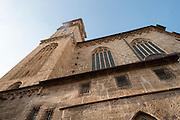 Franziskanerkirche, das historische Zentrum der Stadt Salzburg, UNESCO Welterbestätte, Österreich | Franciscan church, the historic center of the city of Salzburg, a UNESCO World Heritage Site, Austria
