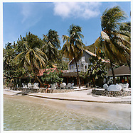 The Frangipani Hotel is located beach side on Admiralty Harbour, Bequia, St. Vincent & the Grenadines, West Indies