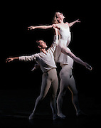 Wendy Whelan, Jared Angle and Ask la Cour in.In Memory Of....Choreography by Jerome Robbins.New York City Ballet  .Credit Photo: Paul Kolnik.studio@paulkolnik.com.nyc 212-362-7778