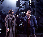 As You Like It <br /> by William Shakespeare<br /> at The Olivier Theatre, London, Great Britain <br /> press photocall<br /> 30th October 2015 <br /> <br /> John Ramm as Duke Senior <br /> Paul Chahidi as Jaques <br /> <br /> Photograph by Elliott Franks <br /> Image licensed to Elliott Franks Photography Services