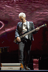 June 4, 2017 - Chicago, Illinois, U.S - ADAM CLAYTON of U2 during 30th Anniversary of the The Joshua Tree Tour at Soldier Field in Chicago, Illinois (Credit Image: © Daniel DeSlover via ZUMA Wire)