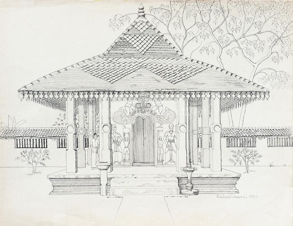 BARBARA SANSONI. Maha Saman Devale, Ratnapura.