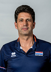 08-06-2018 NED: Photoshoot selection of Orange Young Boys, Arnhem <br /> Orange Young Boys 2018 - 2019 / Coach Arnold van Ree