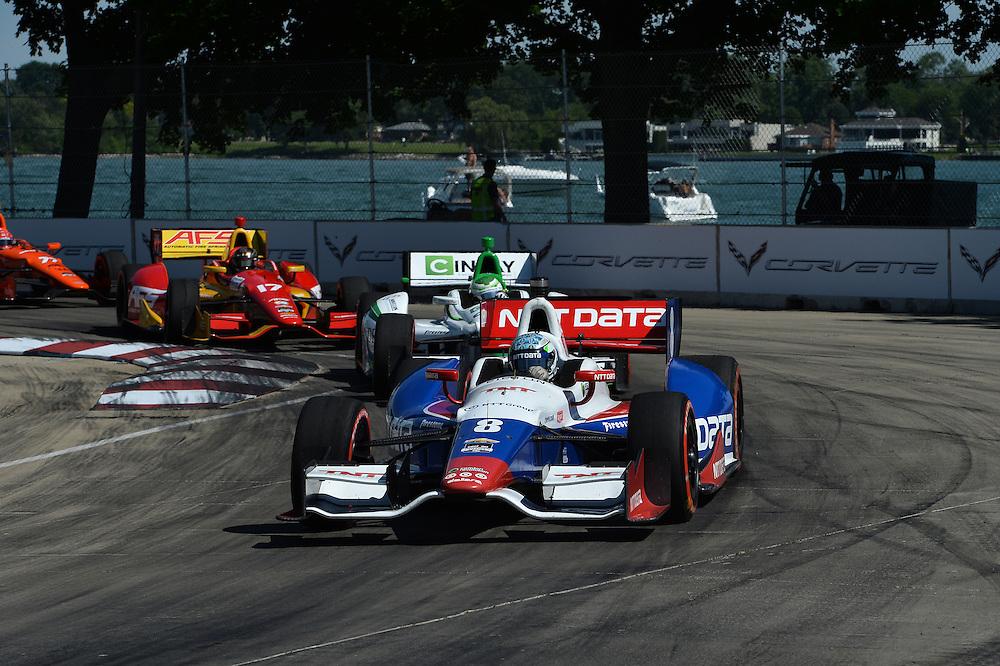Ryan Briscoe, The Raceway at Belle Isle Park, Detroit, MI USA 6/1/2014