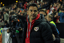March 1, 2019 - Madrid, Madrid, Spain - Michel of Rayo Vallecano during La Liga Spanish championship, , football match between Rayo Vallecano and Girona , March 01th, in Estadio de Vallecas in Madrid, Spain. (Credit Image: © AFP7 via ZUMA Wire)