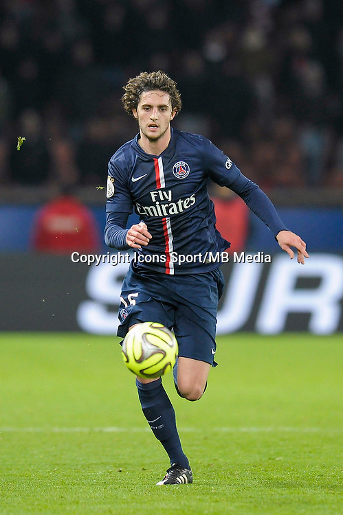 Adrien Rabiot - 06.12.2014 - PSG / Nantes - 17eme journee de Ligue 1<br />