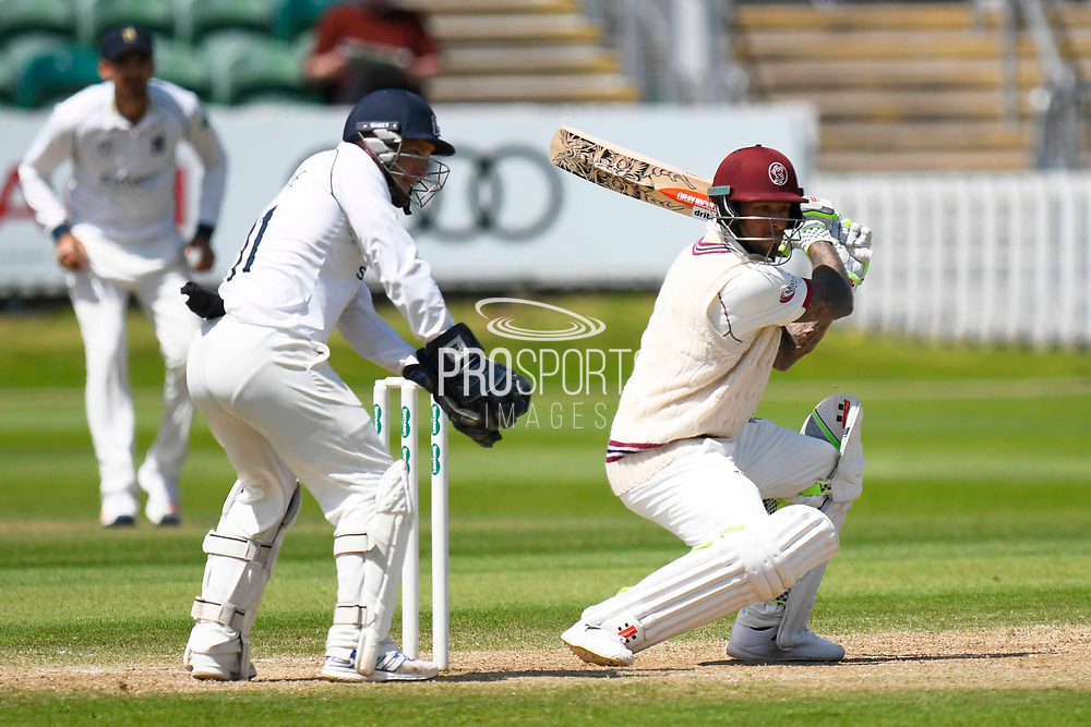 Peter Trego of Somerset batting during the Specsavers County Champ Div 1 match between Somerset County Cricket Club and Warwickshire County Cricket Club at the Cooper Associates County Ground, Taunton, United Kingdom on 22 May 2017. Photo by Graham Hunt.