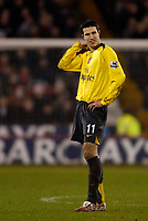 Photo: Jed Wee.<br />Sheffield United v Arsenal. The Barclays Premiership. 30/12/2006.<br /><br />Arsenal's Robin van Persie rues three dropped points.