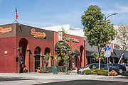 Bastards BBQ & Sports Bar and Peking China Restaurants on Downey Ave and 2nd Street