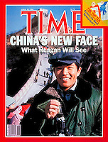 Time Magazine, cover before Reagan's trip in 1984