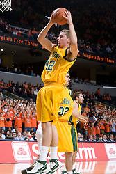 F Vermont Catamounts Ryan Shields (42)..The Virginia Cavaliers men's basketball team defeated the Vermont Catamounts 90-72 at the John Paul Jones Arena in Charlottesville, VA on November 11, 2007.