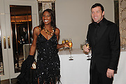 DENISE LEWIS; STEVE FINAN, The Cartier Racing Awards. The Ballroom, Dorchester hotel. Park Lane. London. 15 November 2011. <br /> <br />  , -DO NOT ARCHIVE-© Copyright Photograph by Dafydd Jones. 248 Clapham Rd. London SW9 0PZ. Tel 0207 820 0771. www.dafjones.com.
