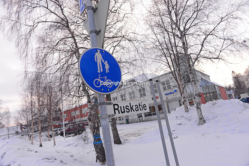 Traffic sign, Ivalo