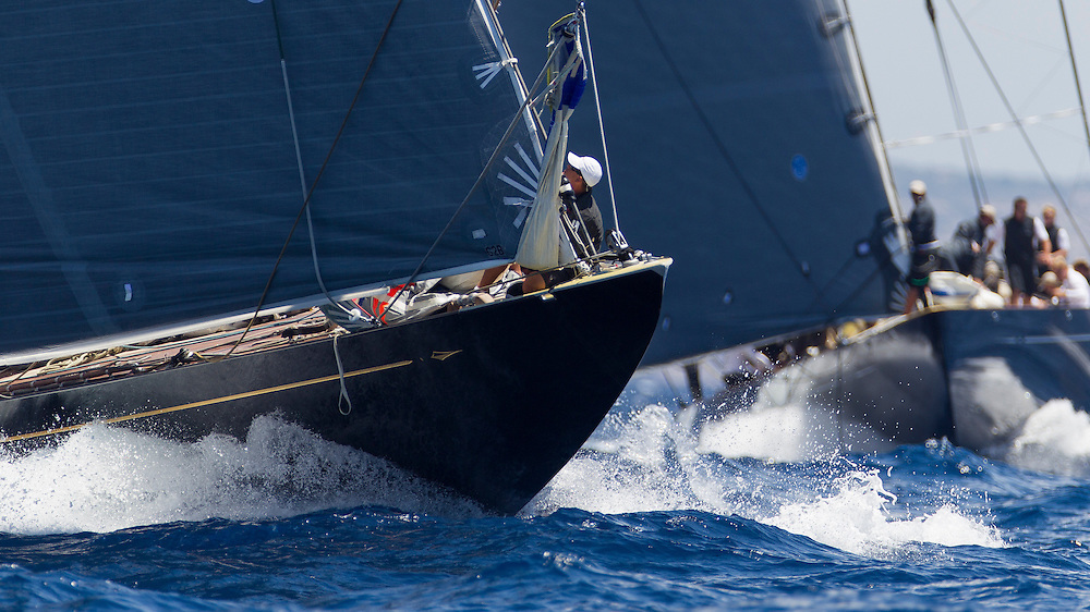 SPAIN, Palma. 22nd June 2013. Superyacht Cup. Race Four, Coastal Race. Rainbow.