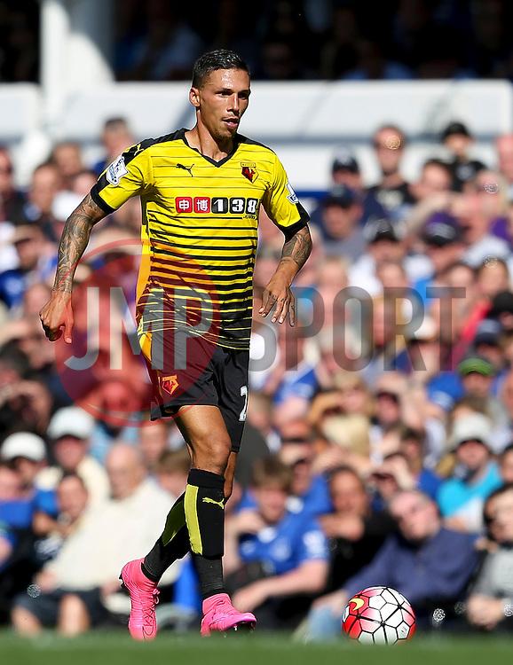 Watford's Jose Holebas  - Mandatory byline: Matt McNulty/JMP - 07966386802 - 08/08/2015 - FOOTBALL - Goodison Park -Liverpool,England - Everton v Watford - Barclays Premier League