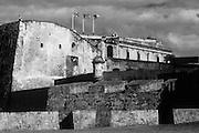 Front view of Fort San Cristobal