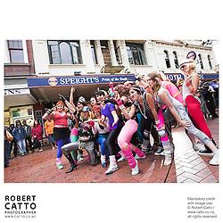 Real Hot Bitches at the Go Wellington Cuba St Carnival at Cuba St, Wellington, New Zealand.