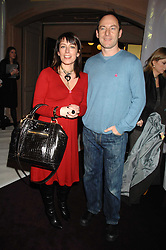 FAY RIPLEY and JASON ISAACS at a reception to launch the Kiss It Better Appeal in aid of the Great Ormond Street Hosoital supported by Clinique - held at Harrods, Knightsbridge, London on 30th January 2008.<br /> <br /> NON EXCLUSIVE - WORLD RIGHTS (EMBARGOED FOR PUBLICATION IN UK MAGAZINES UNTIL 1 MONTH AFTER CREATE DATE AND TIME) www.donfeatures.com  +44 (0) 7092 235465
