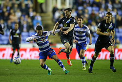 Liam Kelly of Reading in action - Mandatory by-line: Jason Brown/JMP - 04/04/2017 - FOOTBALL - Madejski Stadium - Reading, England - Reading v Blackburn Rovers - Sky Bet Championship