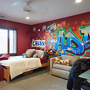 CHERRY HILL, NJ - DECEMBER 23, 2016: The front bedroom on the second floor shares a bathroom with the middle front bedroom. 9 Gwen Court, Cherry Hill, NJ. Credit: Albert Yee for the New York Times