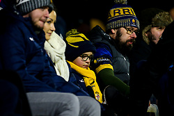 Worcester Warriors fans - Mandatory by-line: Robbie Stephenson/JMP - 17/01/2020 - RUGBY - Sixways Stadium - Worcester, England - Worcester Warriors v Castres Olympique - European Rugby Challenge Cup