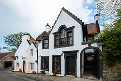 The Cramond Inn in village of Cramond in Edinburgh, Scotland, UK