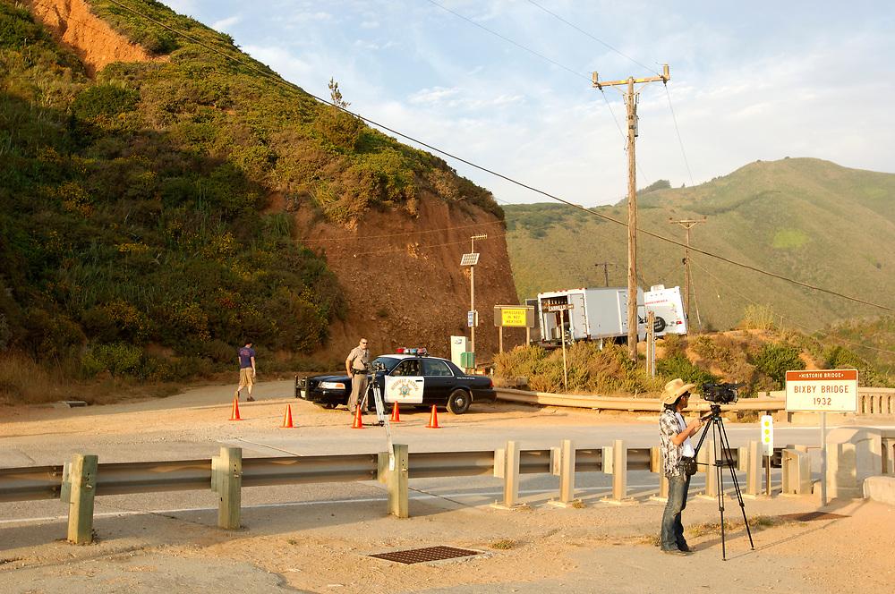at Bixby Bridge, Highway 1, Cabrillo Highway, Big Sur, California, United States of America