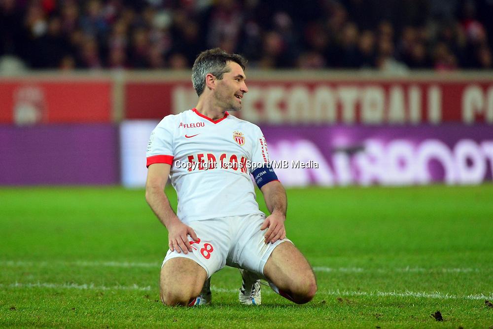Jeremy TOULALAN  - 24.01.2015 - Lille / Monaco - 22eme journee de Ligue1<br />Photo : Dave Winter / Icon Sport