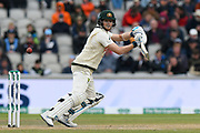 Steve Smith of Australia batting during the International Test Match 2019, fourth test, day two match between England and Australia at Old Trafford, Manchester, England on 5 September 2019.