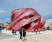 Vanke Pavilion in Milan Expo 2015 by Daniel Libeskind