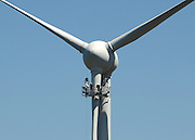 AUSTRALIA - ALBANY A wind turbine is repaired at Albany Wind Farm 13/01/2010. STEPHEN SIMPSON...