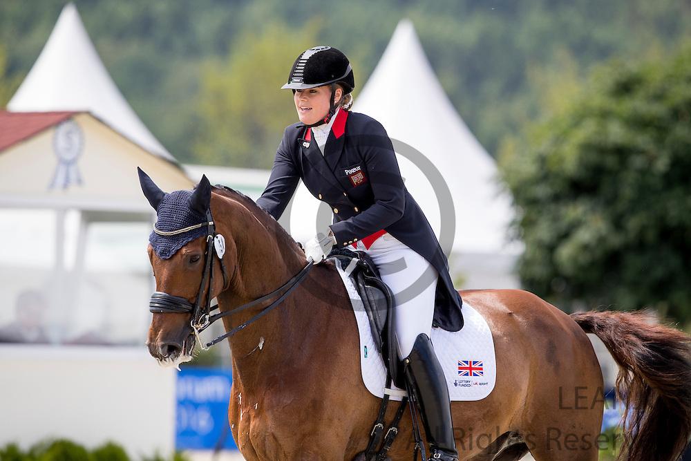 Alex Hardwick - Donauwein<br /> European Championships Dressage U25 2016<br /> &copy; DigiShots