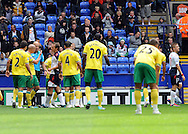 Picture by Chris Donnelly/Focus Images Ltd. 07500 903009 .17/9/11.Ivan Klasnic of Bolton is sent off in the first half  during the Barclays Premier League match at Reebok stadium, Bolton.
