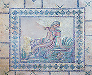 Cyprus, Pafos Archeological site The house of Dionysos Mosaic